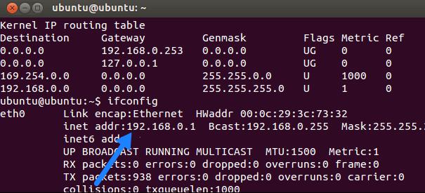 wifi ip linux