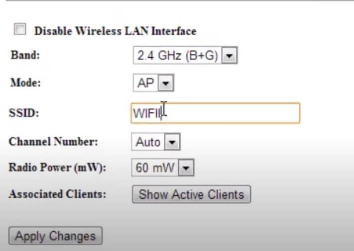 wireless lan interface